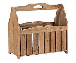 Revistero de madera Claire