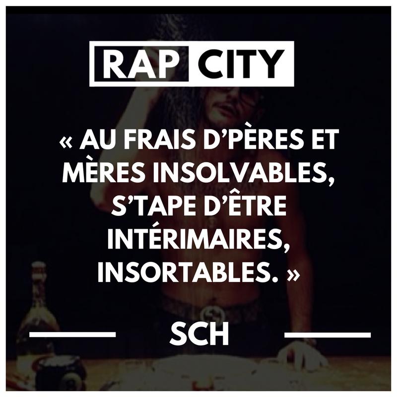 Les 20 Meilleures Punchlines De Sch Paroles De Rap