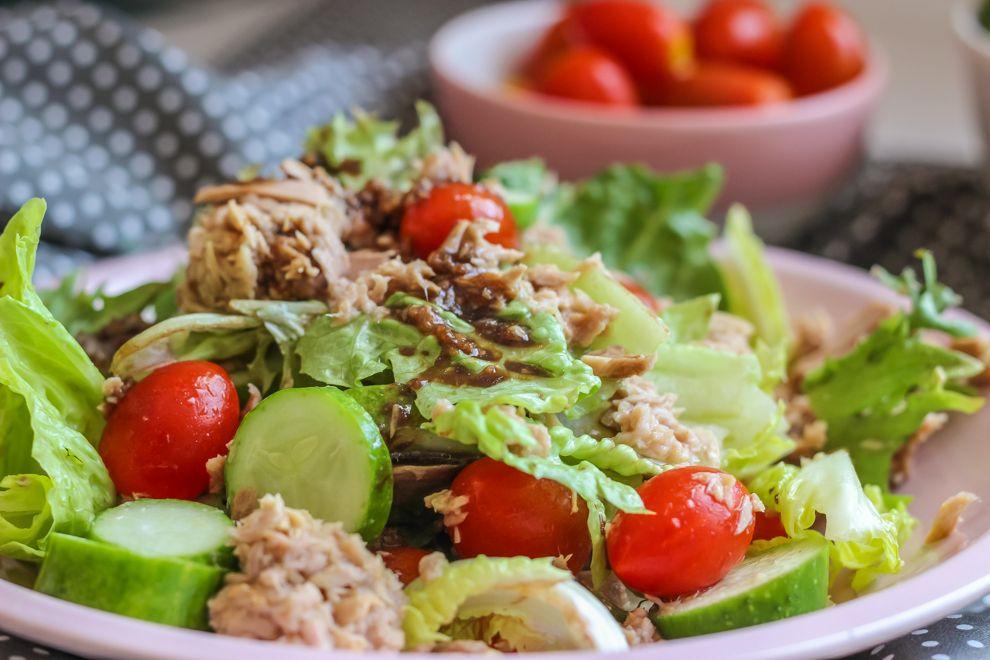 Низкокалорийные салаты для диеты
