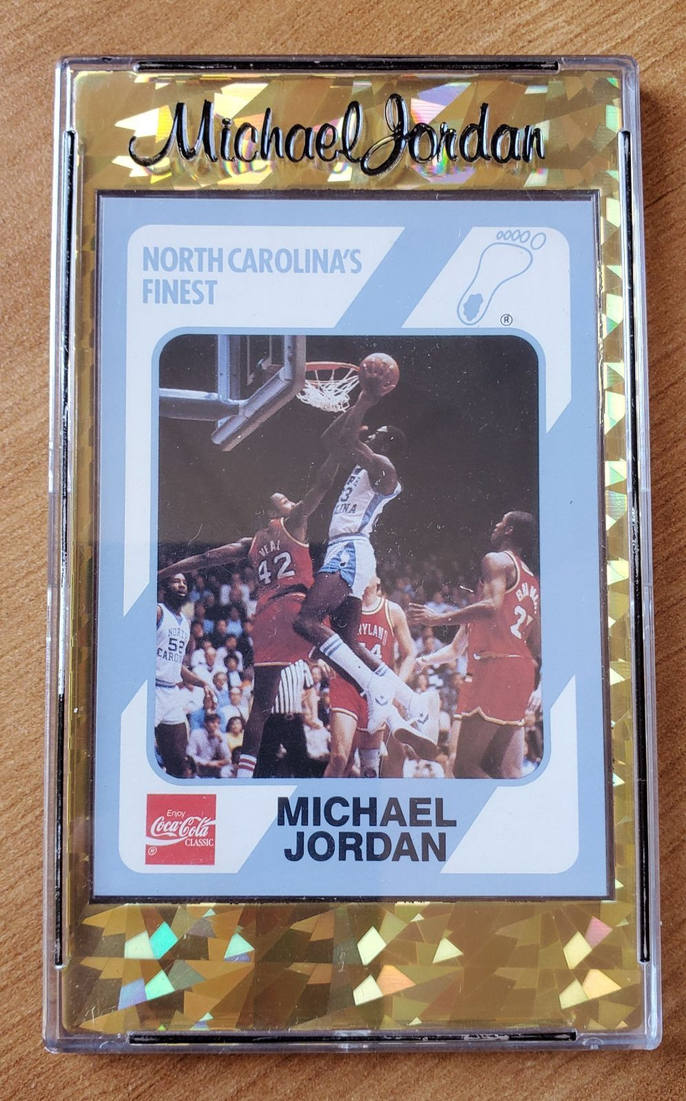 1989 collegiate collection michael jordan 13 excellent