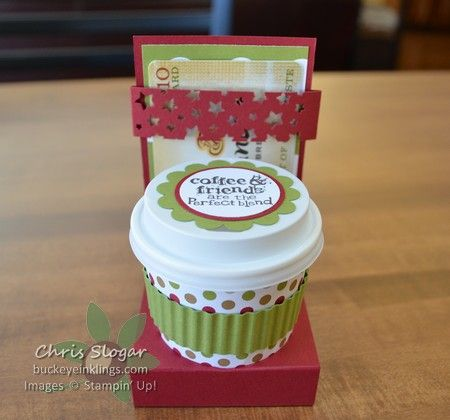 Coffee Cup Gift Card Holder Coffee Gifts Card Coffee Cup Gifts Coffee Gifts