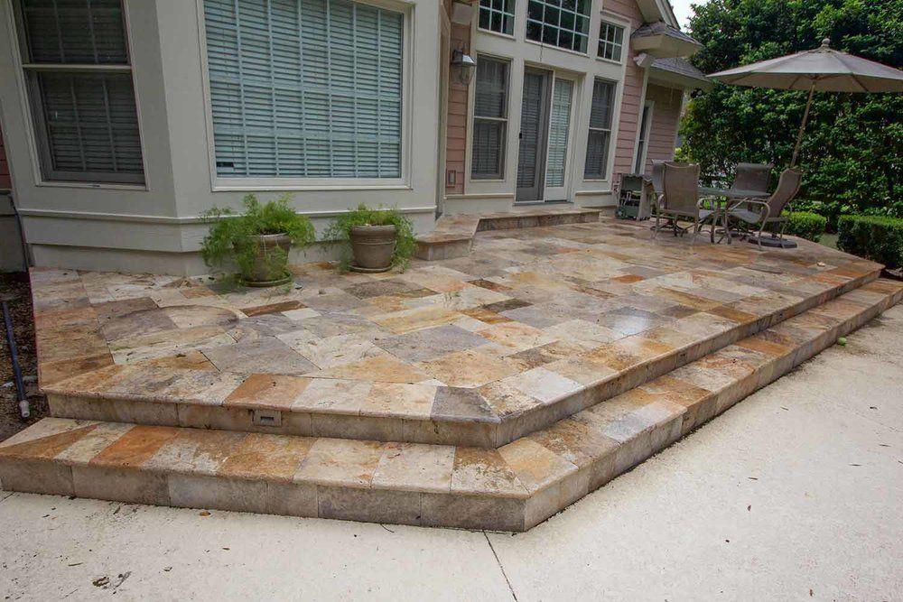 Stone Step Constractors Bluffton Sc Paving Design Paver Designs Stone Step