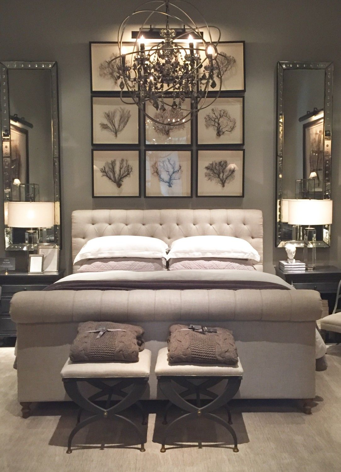 Restoration hardware bedroom - Restoration Hardware Tampa Part One Starfish Cottage Reminds Me Of Our Master Bedroom Lovely Neutrals