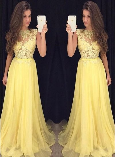 62036b2b9999 Pin by Alyson Eickleberry on ClothesShoesAcc. | Prom dresses, Yellow ...
