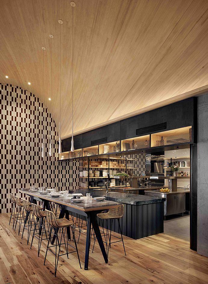 ATX Cocina restaurant review - Austin, USA | Open kitchens, Ceiling ...