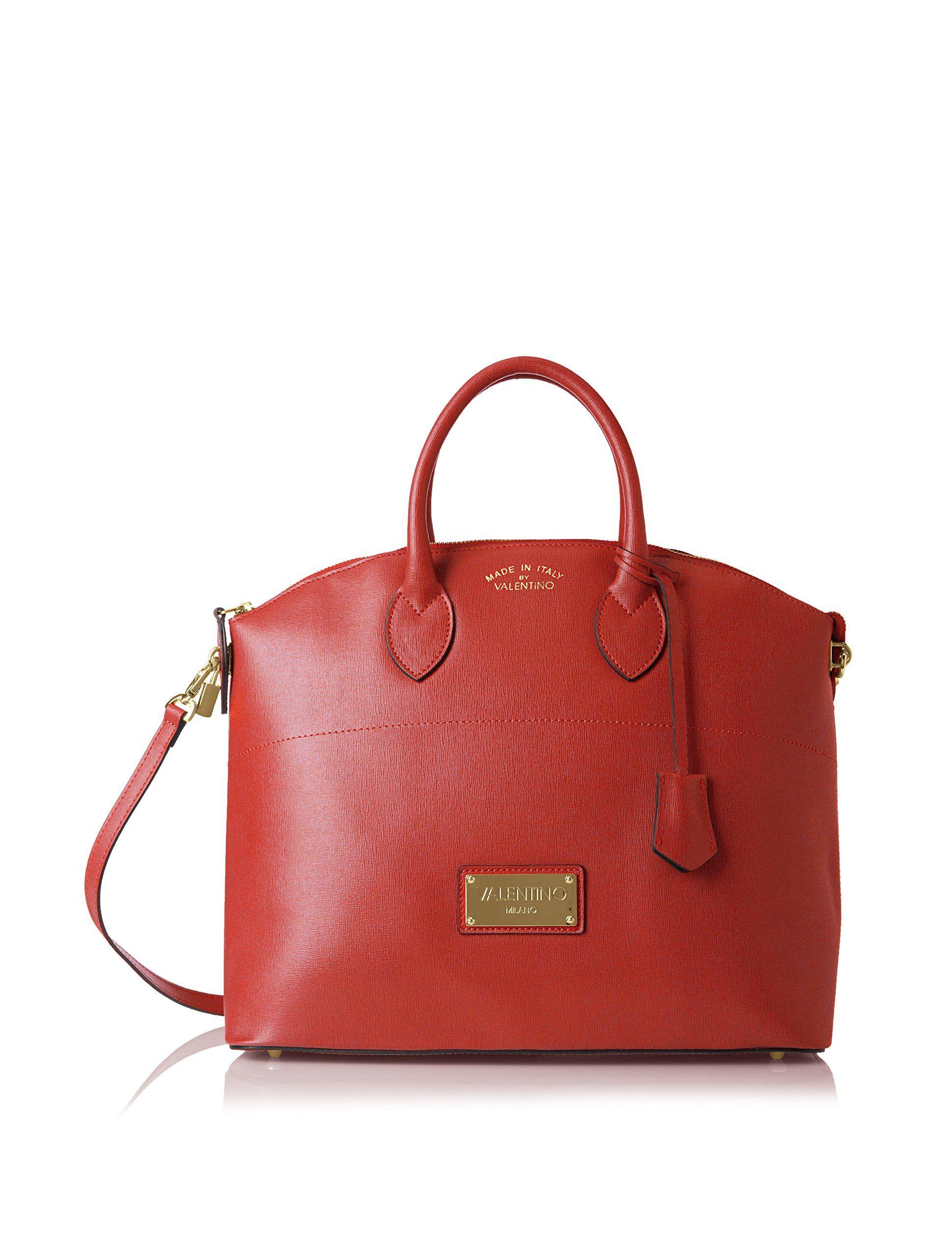 Valentino Bags by Mario Valentino Women's Bravia Satchel, Rubino at MYHABIT