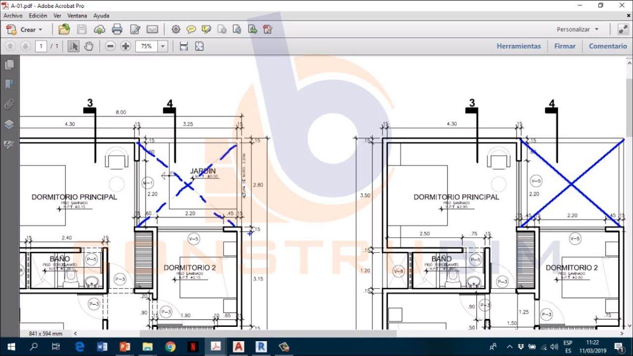 03 Leer E Interpretar Los Símbolos Arquitectónicos Autocad Floor Plans Diagram