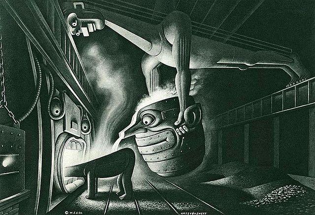 steel- Boris Artzybasheff