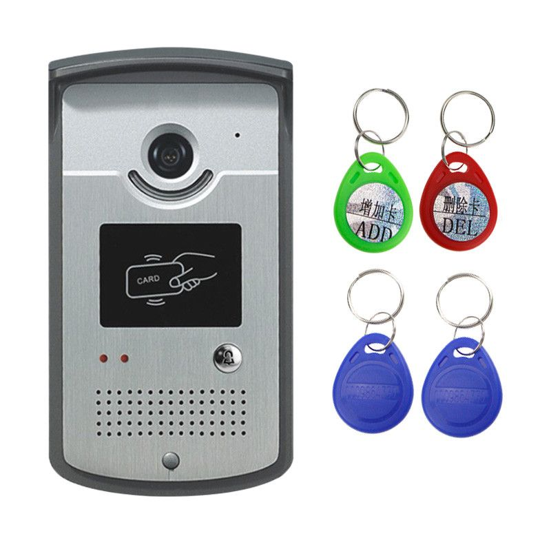 Maszyna Xsl Id Wejscie Dzwonek Domofon Kolor Wideo Telefon Drzwi Na Zewnatrz Ir Kamera Z Cmos Night Vision Moze Czytn Video Door Phone Doorbell Doorbell Camera
