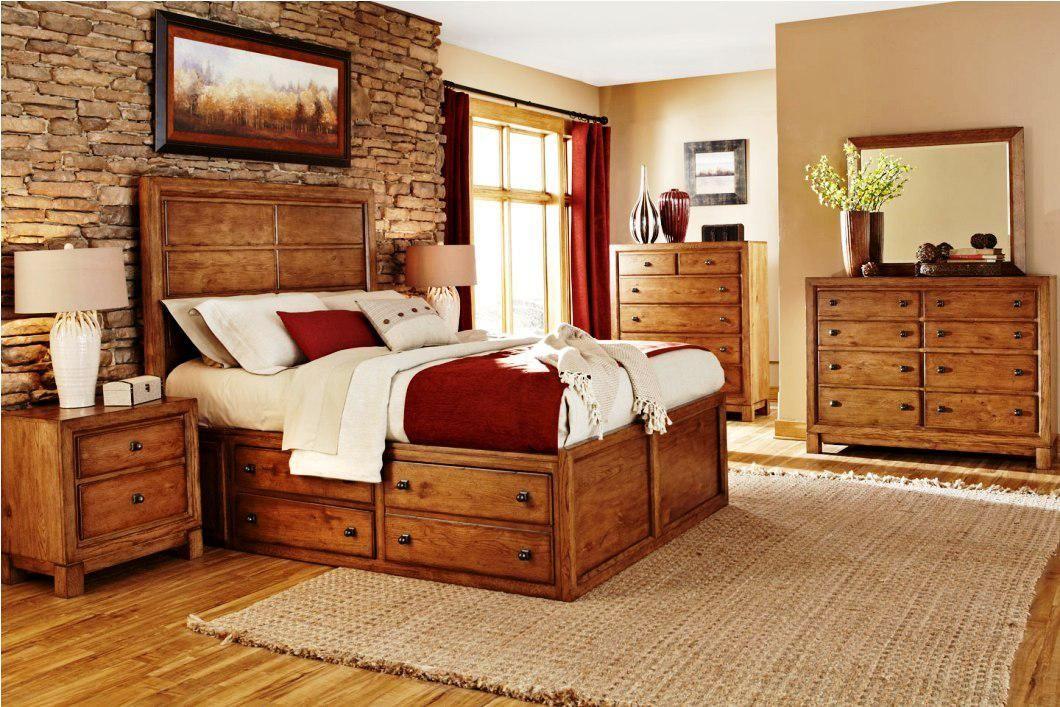 Rustikale Holz Möbel Schlafzimmer Set Möbel (mit Bildern