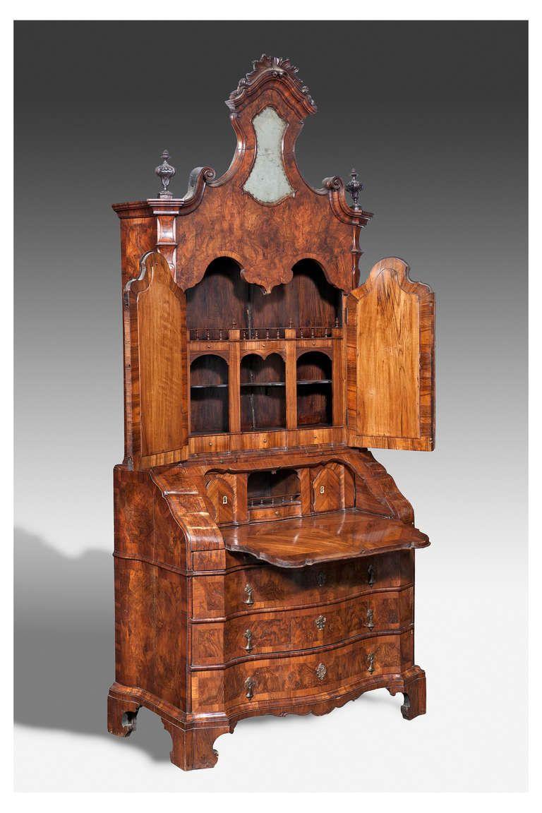 18th Century Cabinet Ferrara Bologna Antig Edades Muebles  # Muebles Renacentistas