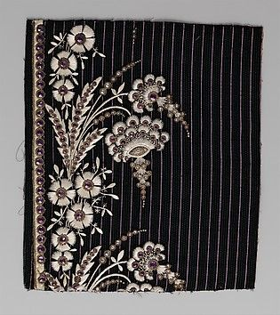 Embroidery Sample (France), 1790-1810 | The Metropolitan Museum