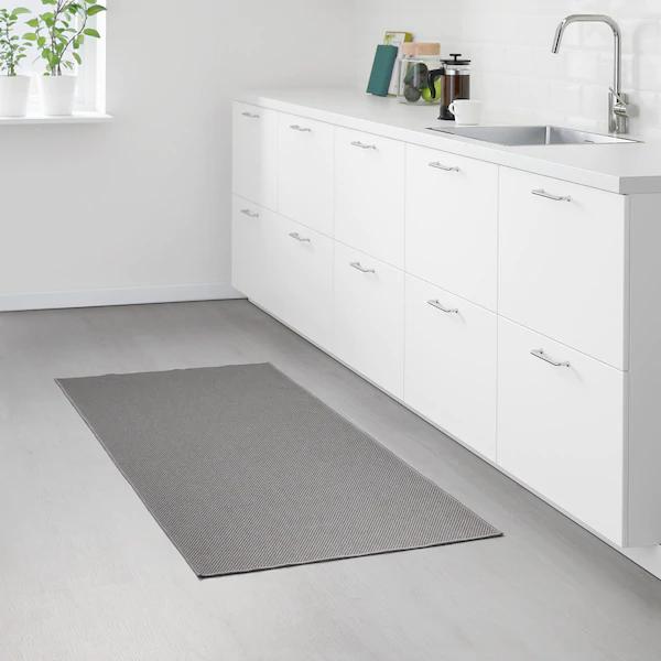 Sollinge Szonyeg Sikszovott Szurke 65x150 Cm In 2020 Ikea