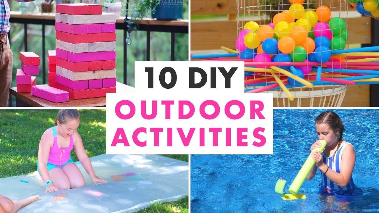 10 Diy Outdoor Activities And Backyard Games Hgtv