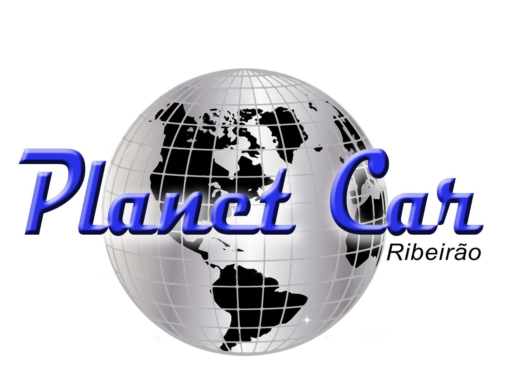 Logo para loja de automóveis Planet Car.