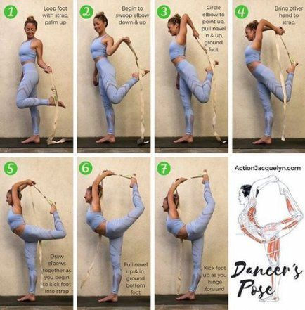 27 ideas yoga stretches with strap for 2019  flexibility