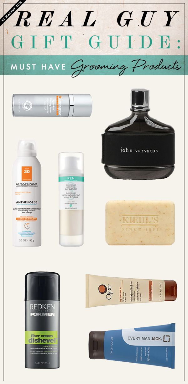 Real Guy Gift Guide Must Have Grooming Products Makeup Com