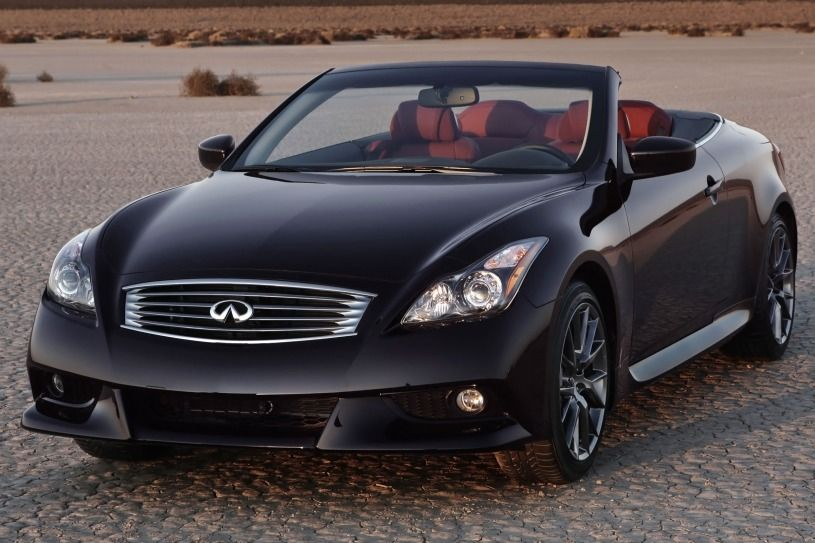Used 2013 INFINITI G Convertible for Sale Near You G37