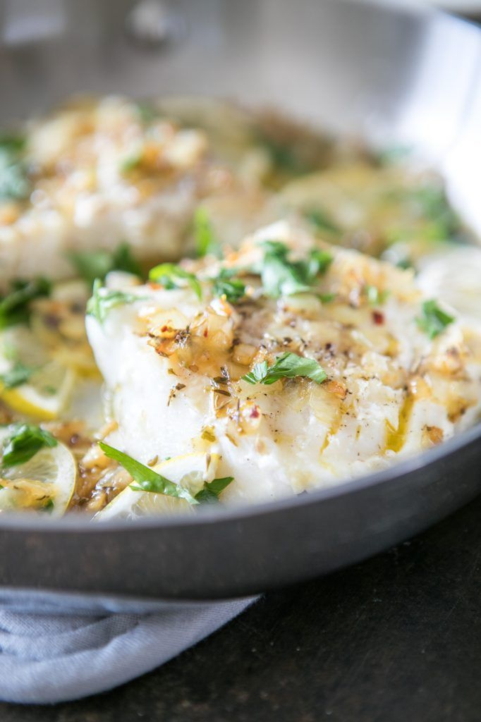 Pan Seared Cod With Herbs And Lemon Recipe Paleo Recipes Food Recipes Seared Cod Recipe