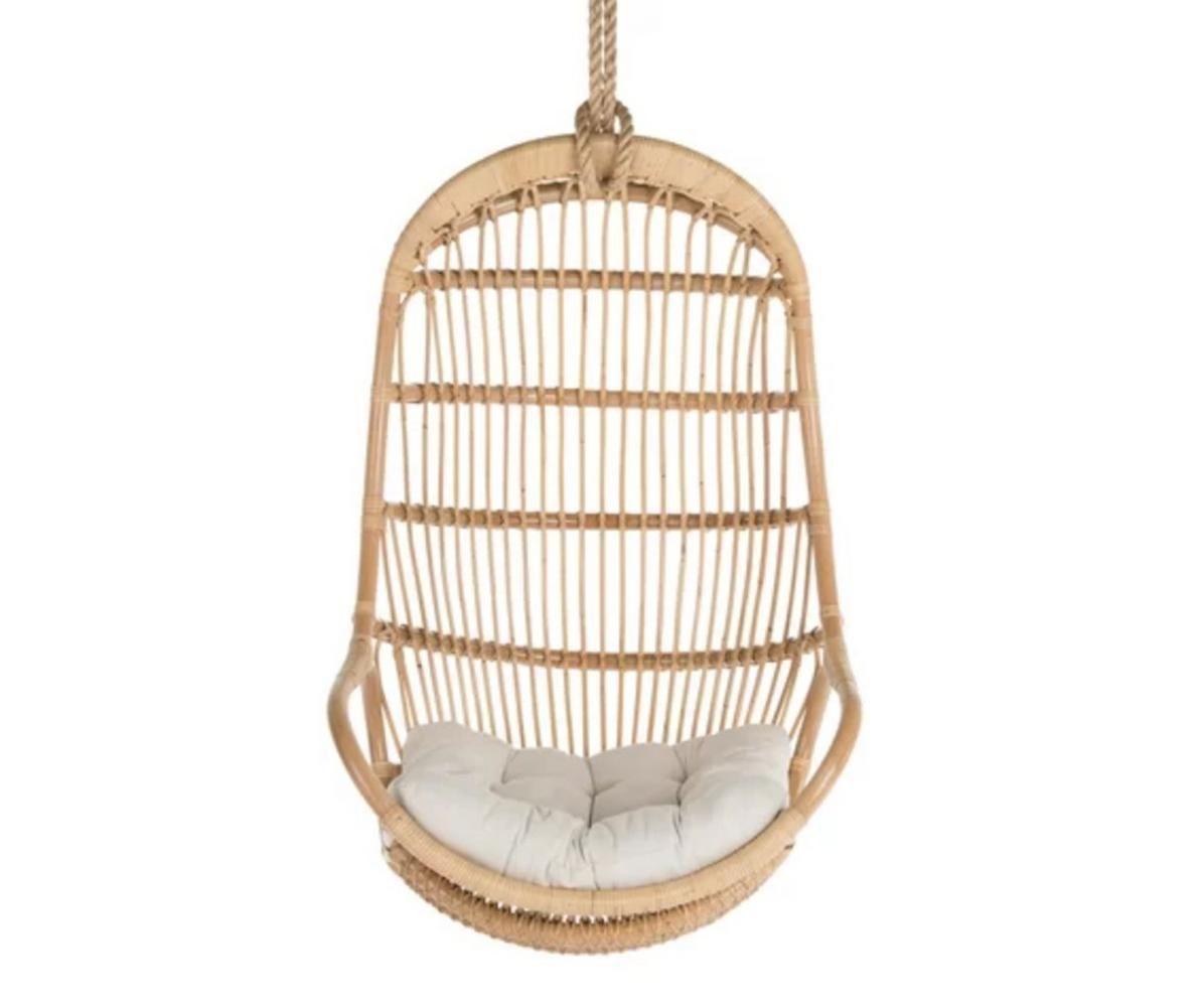 Blucher hanging rattan swing chair aerin hanging swing