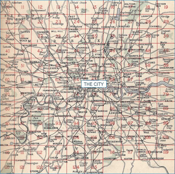old maps of london featuring detailed street maps of the city of london and the london boroughs as shown on the bartholomew map series of last century