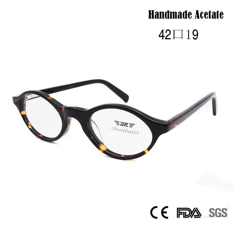 ZBZ Kids Vintage Eyeglases Frames Girls Round Nerd Glasses Black ...