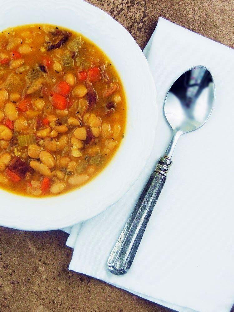 Bobbi's Kozy Kitchen: Hearty Ham and Bean Soup