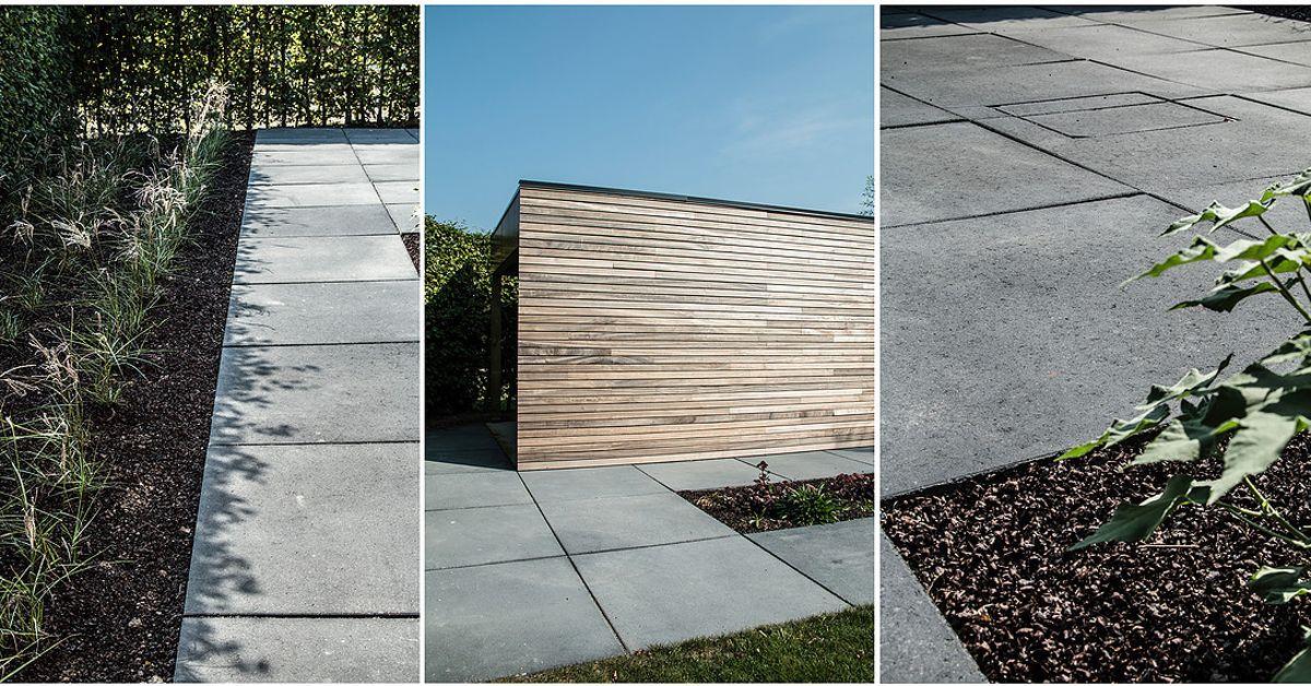Terrastegels Beton 100x100.Pin Op Realisaties Artstone