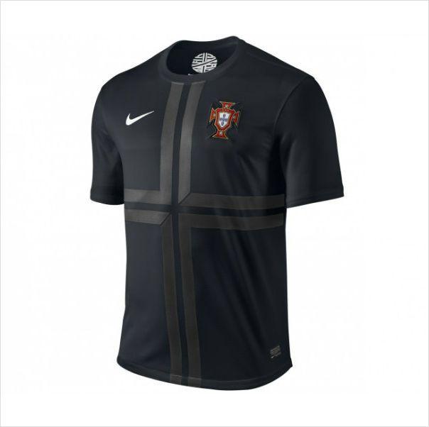Men's 2013 Portugal Black Away Soccer Jersey Camisetas de Fútbol 820103337403 on eBid United States