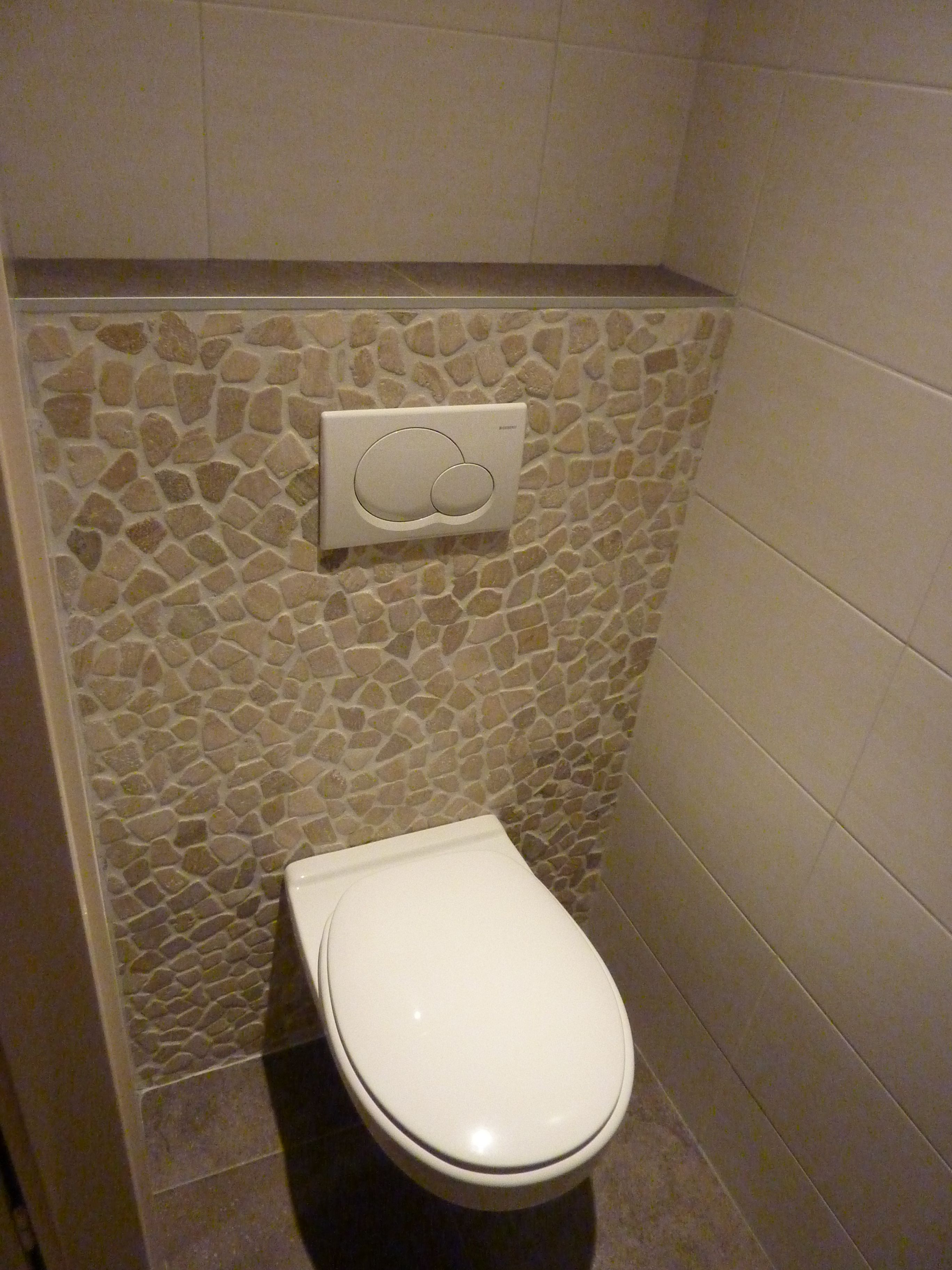 Toilet grote tegels google zoeken home toiletroom pinterest toilets and van - Tegels wc design ...
