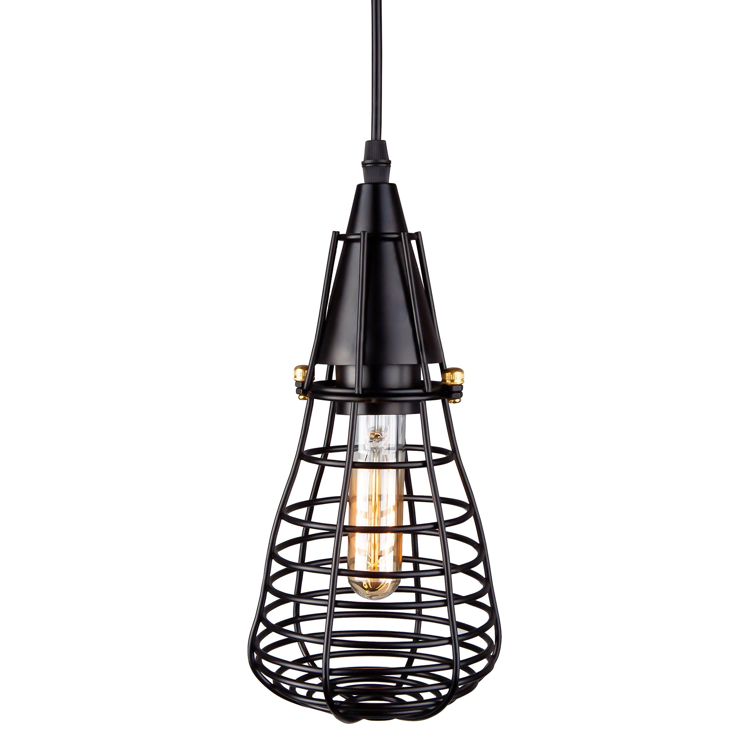 Veesee vintage style v hard wired e metal pendant lamp holders