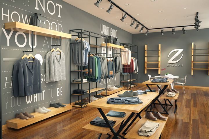 Zagros Store By Anar Studio Tehran Iran Retail Design Blog
