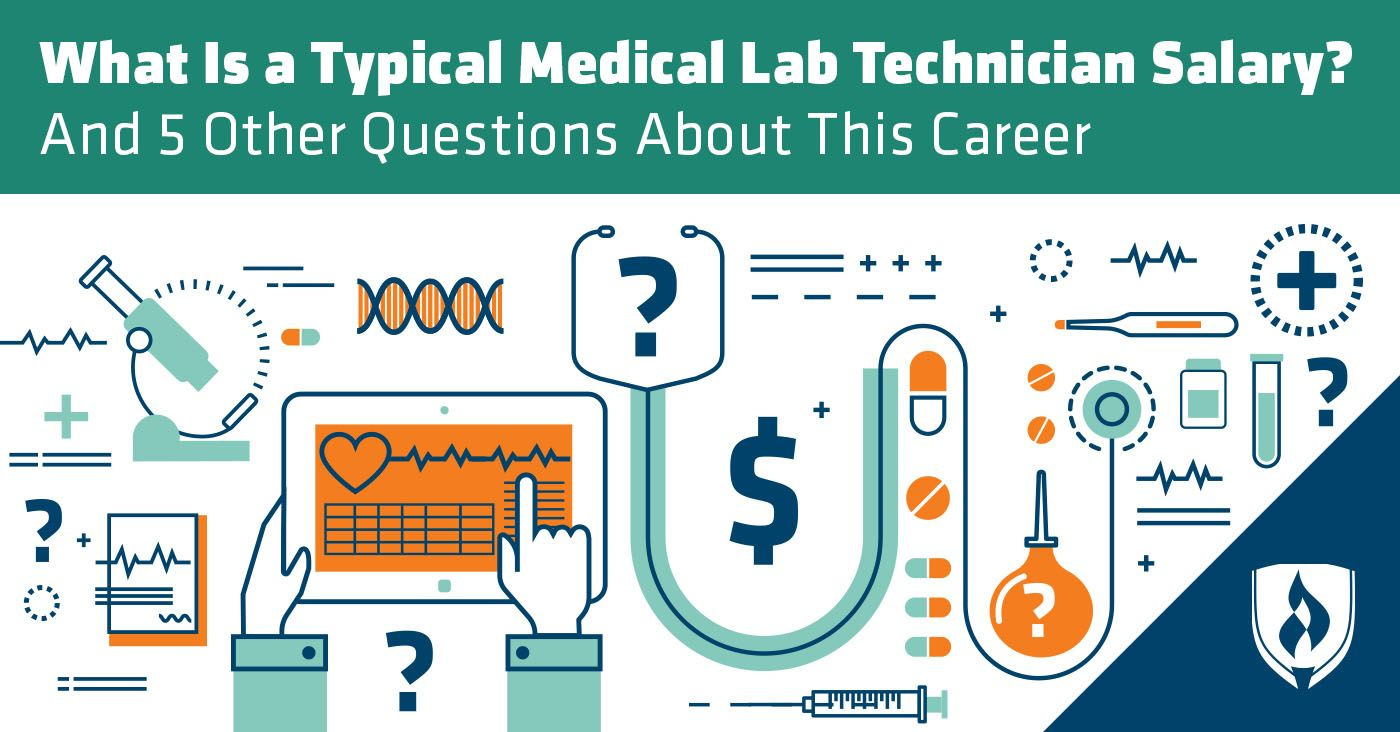 What Is A Typical Medical Lab Technician Salary And 5 Other Questions About This Career