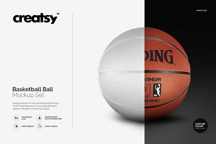 Download Basketball Ball Mockup Set Basketball Ball Mockup Mockup Free Psd