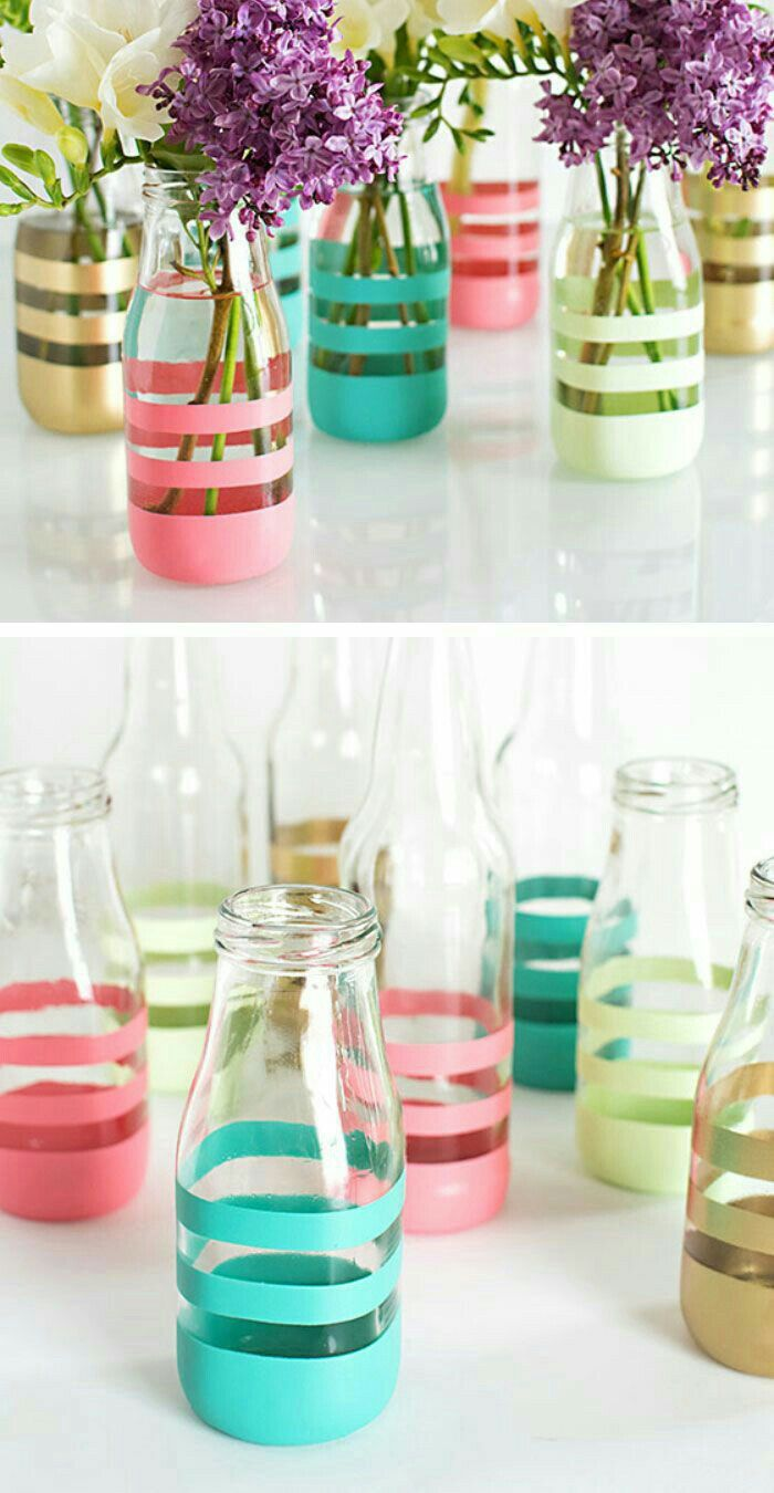 Recycle Bottles… :) | Recycled bottles, Diy bottle and Bottle