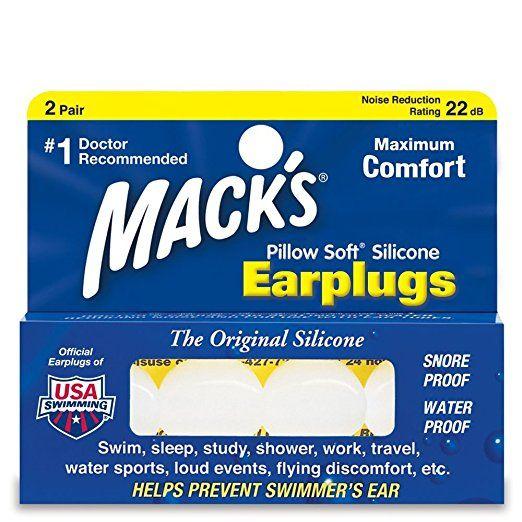 Macks - Pillow Soft - White - 2 pair