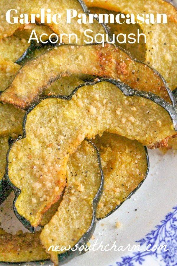 Oven Roasted Parmesan Acorn Squash Recipe Acorn Squash Recipes