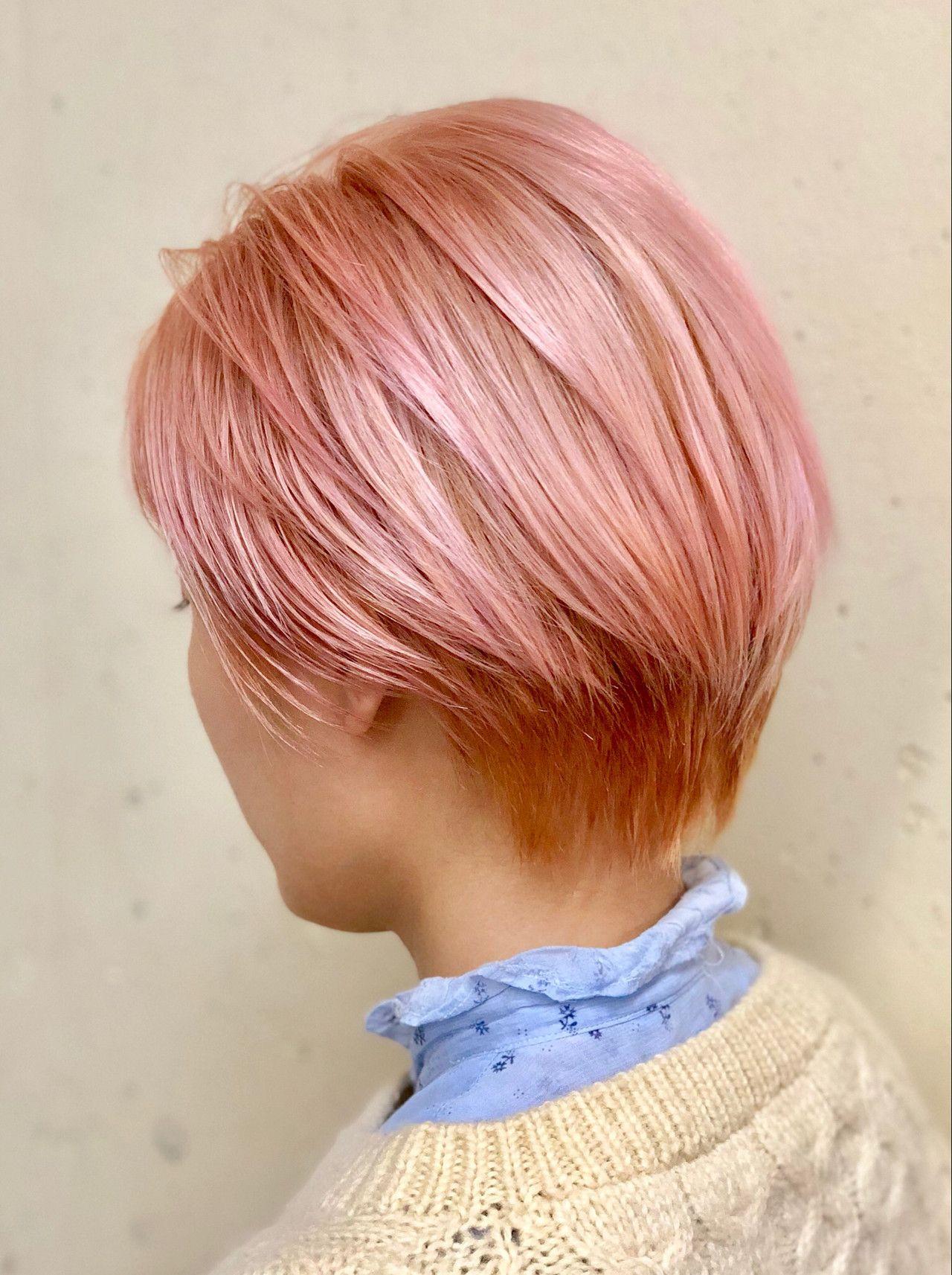 ピンクベージュヘアカラーでモテ髪に ブリーチありなしも比較 ヘアスタイリング ピンクベージュ ヘアカラー ベージュヘアカラー