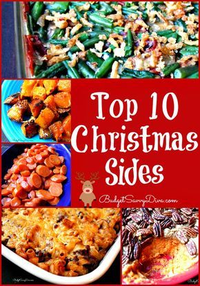 Top 10 christmas sides recipes pot luck recipes and dishes top 10 christmas sides recipes forumfinder Images