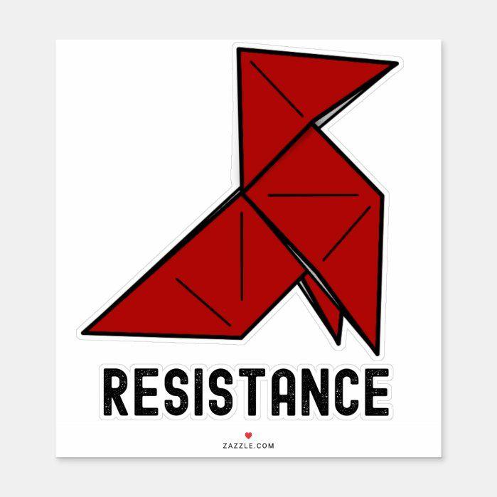 Money Heist Resistance La Casa De Papel Sticker Zazzle Com In 2021 Design Your Own Stickers Money Quotes Norse Tattoo