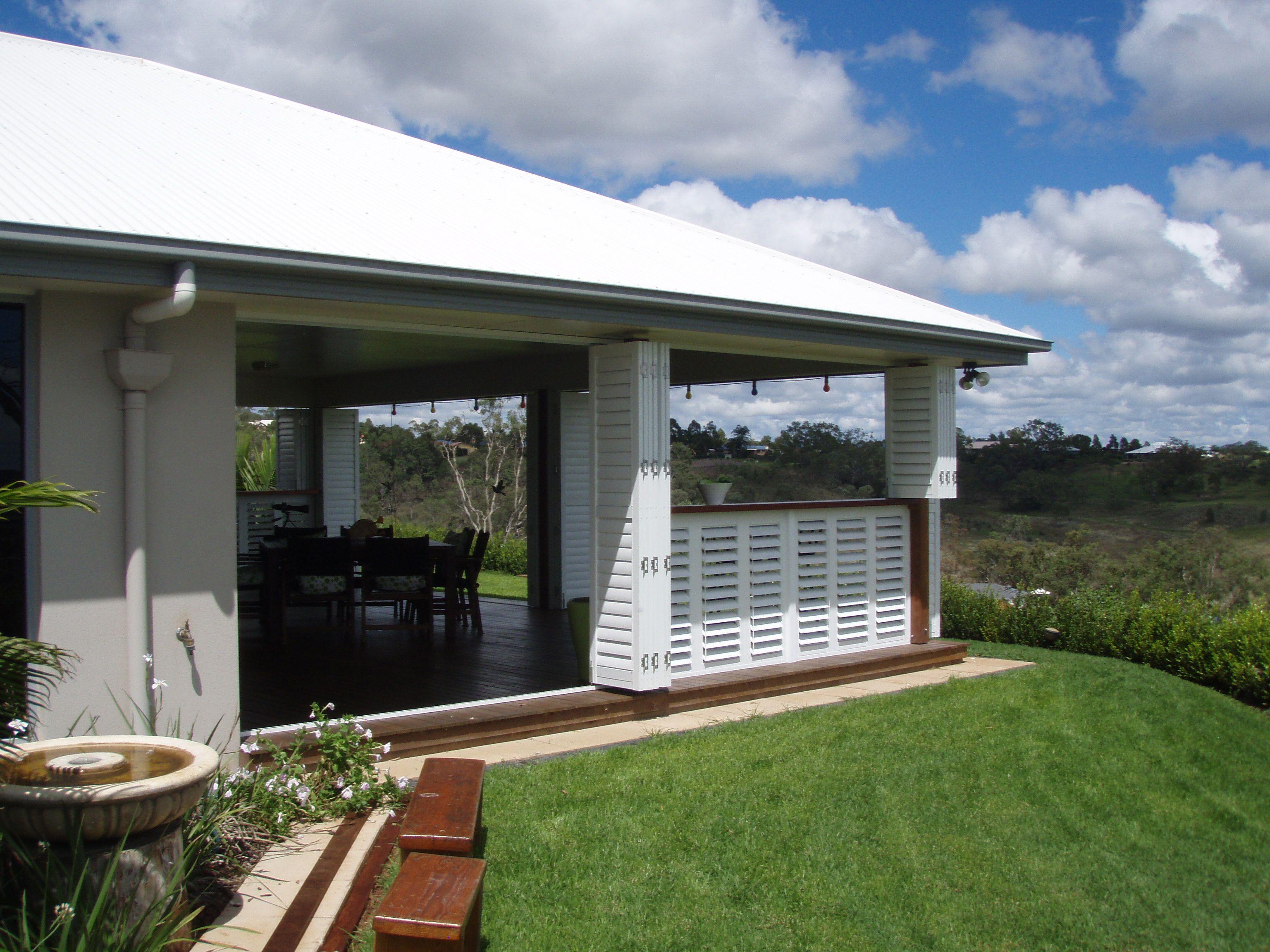 Charming Outdoor Living   Enclosed Deck, Patio Or Porch Contemporary Porch