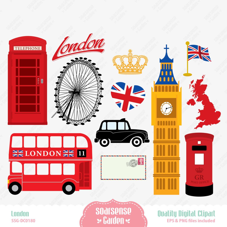 london digital clipart england clipart por ssgarden en etsy rh pinterest com new england clip art england flag clip art