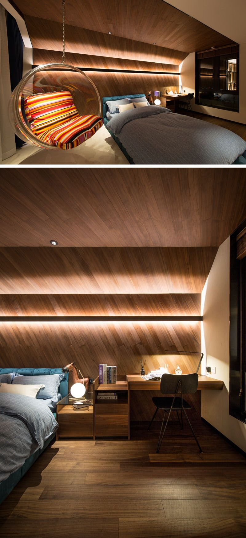 Design Detail – This Children\'s Bedroom Features A Wrap ...