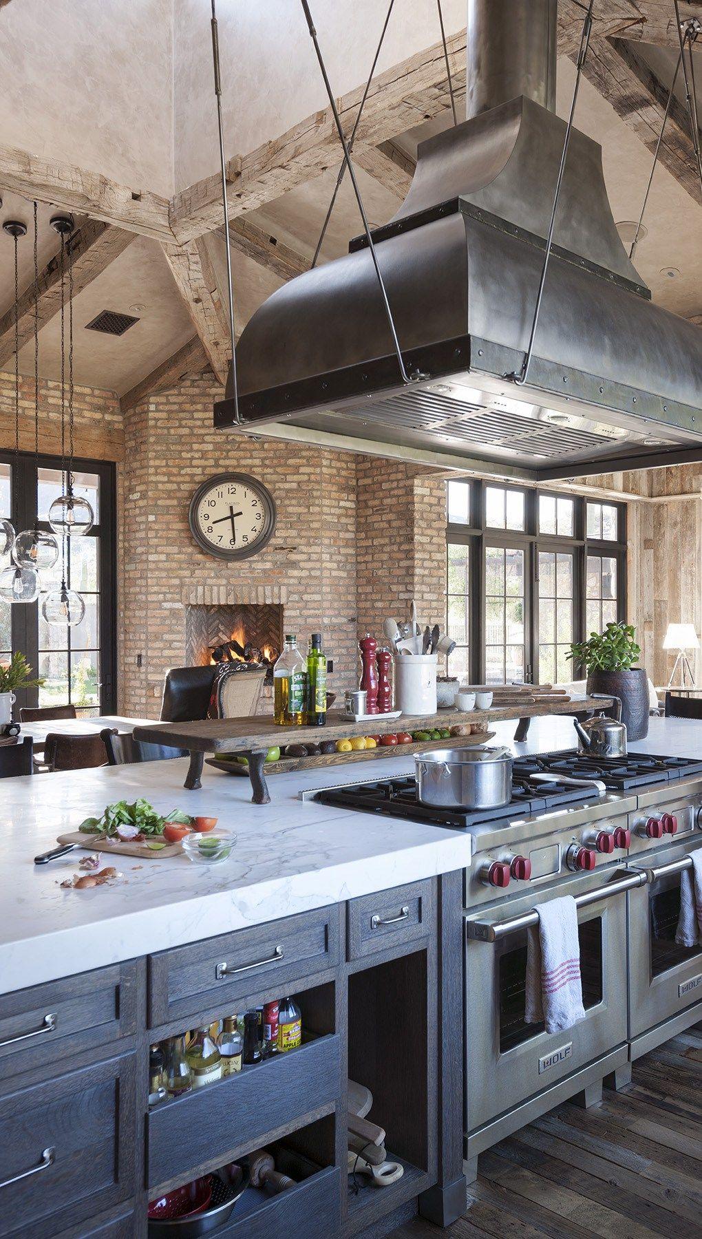 Rustic Eclectic Kitchen | Eclectic kitchen, Rustic kitchen ...