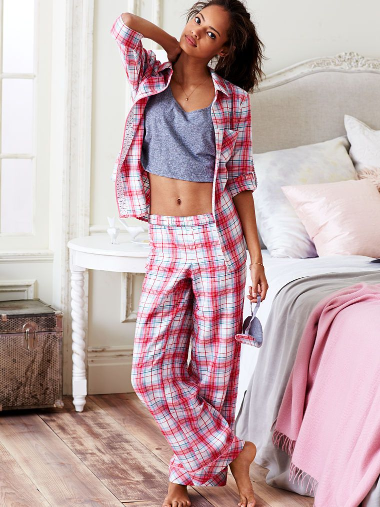 7487be342b Dreamer Flannel Pajama - Victoria s Secret
