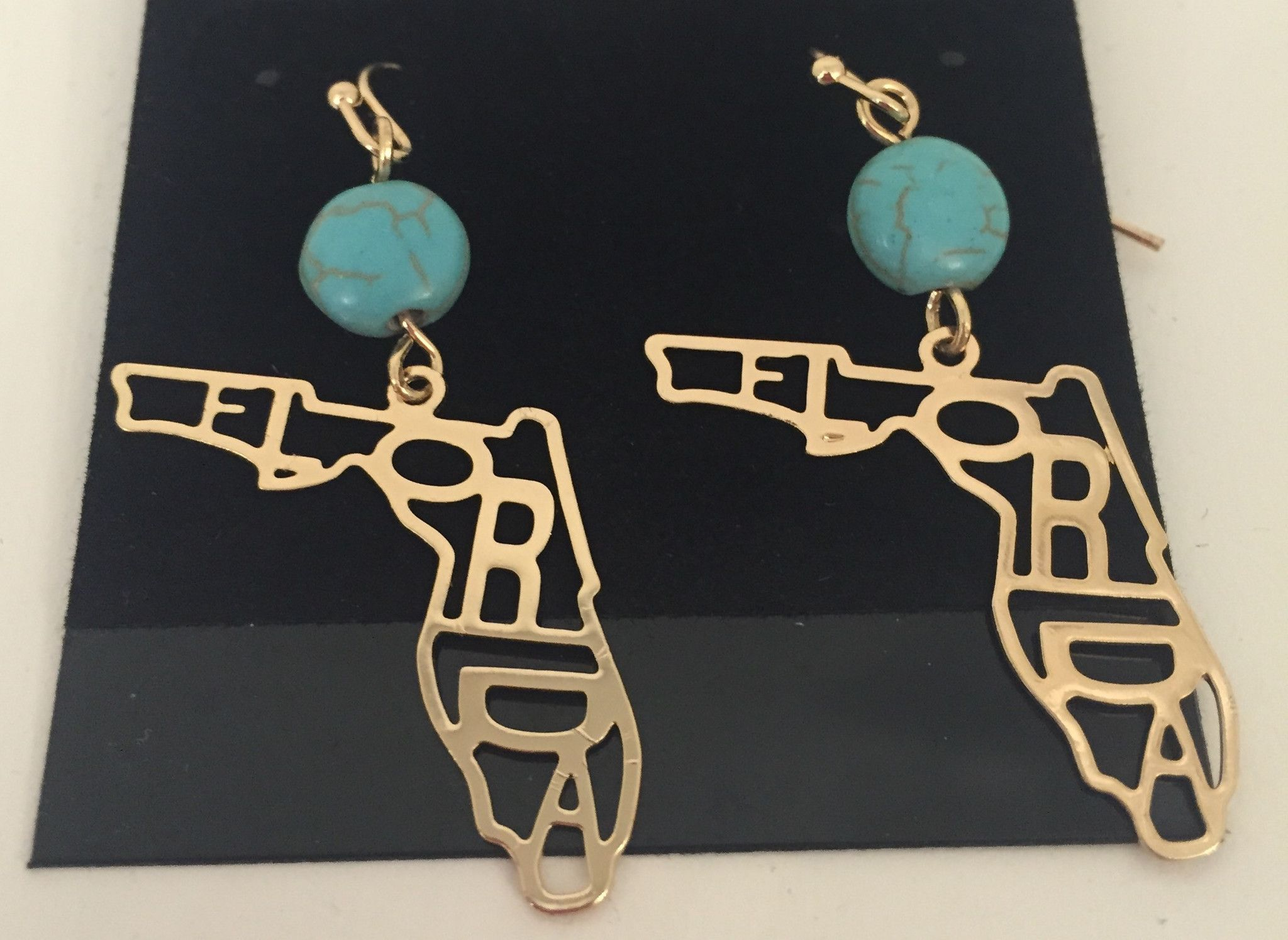 Florida State Cut Out Earrings