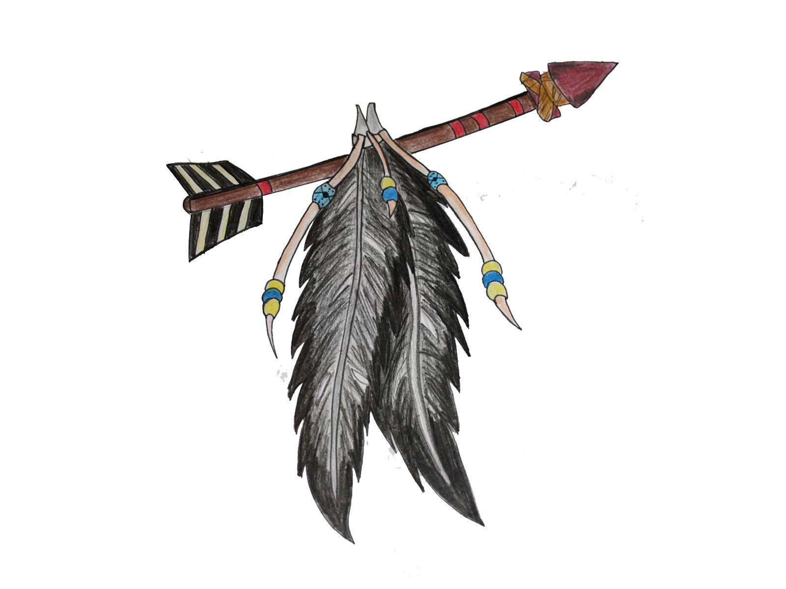 Related Keywords & Suggestions for native american feather ...