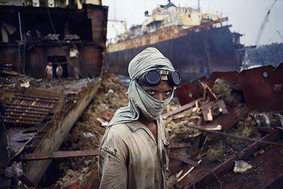 Alang ship breaking yard, Chittagong, Bangladesh