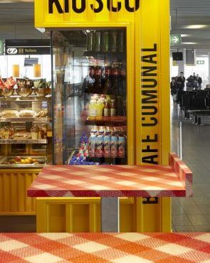 Creneau International Kiosco Hmshost Amsterdam Airport The Netherlands