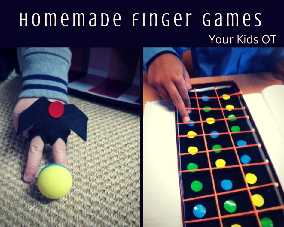 homemade finger games finger soccer and a finger obstacle. Black Bedroom Furniture Sets. Home Design Ideas